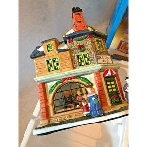 Santas Workbench Turn & Stitch Tailor Village 2000